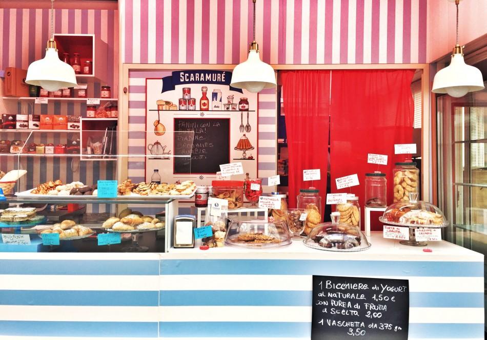 Bakery at Testaccio market