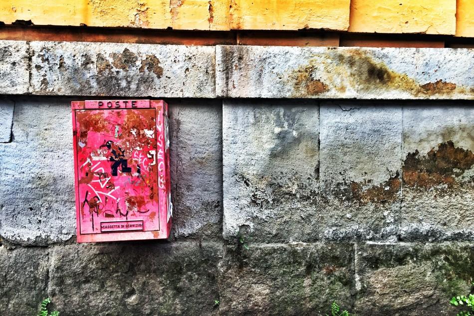 Postcard from testaccio