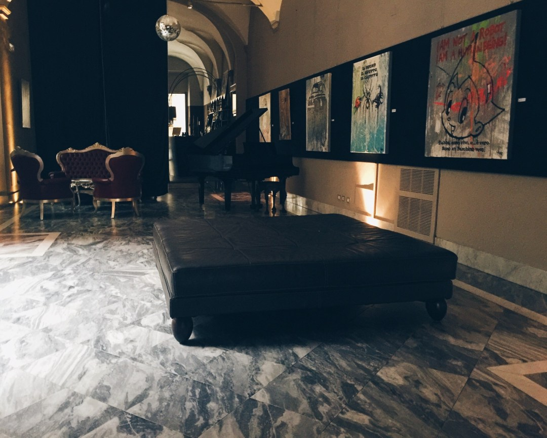 Hall of Borghese Palace Art Hotel