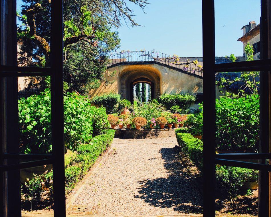 Villa di Lilliano - The coutryard