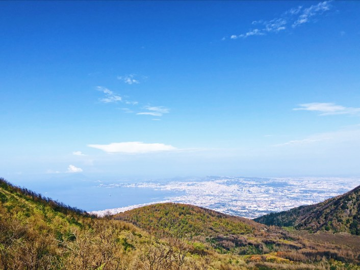 View from Mount Vesuvio