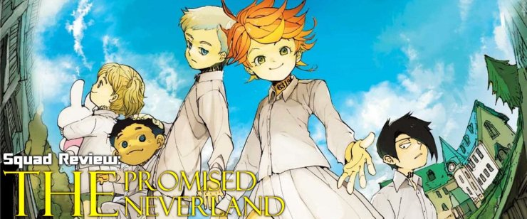 The Promised Neverland Volume One Review - Toonami Squad