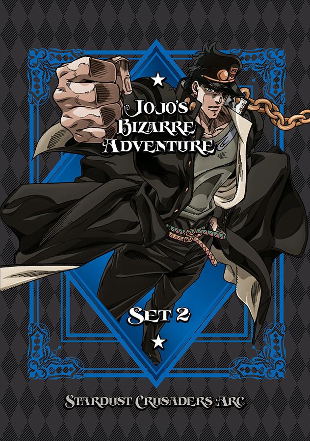 Press Release: JOJO'S BIZARRE ADVENTURE SET 2: STARDUST