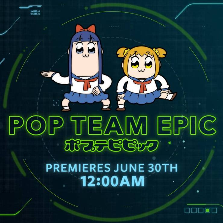 Toonami Announces FUNimation's Pop Team Epic will be joining