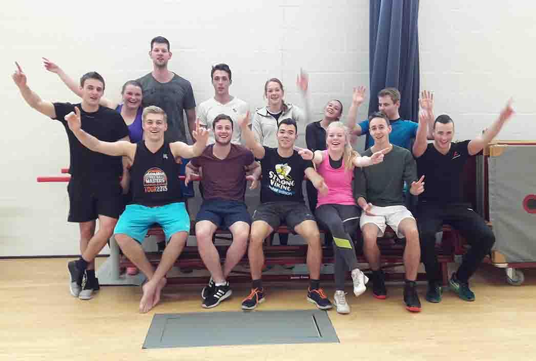 Toon je kracht workshop HAN Nijmegen in taekwondo