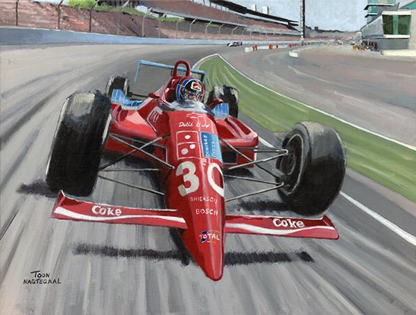 Arie Luyendyk wint de Indy 500 (1990)