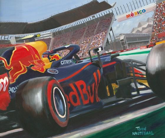 Max Verstappen wint de Grand Prix van Mexico (2018).