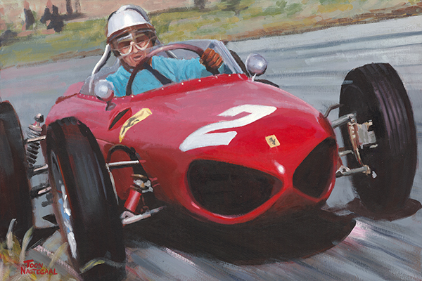 Phil Hill Ferrari 156