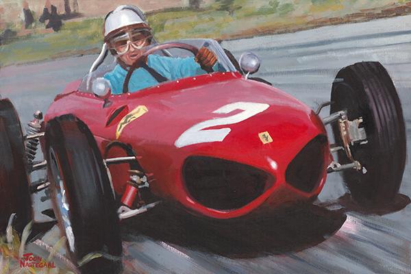 Phil Hill Ferrari 156
