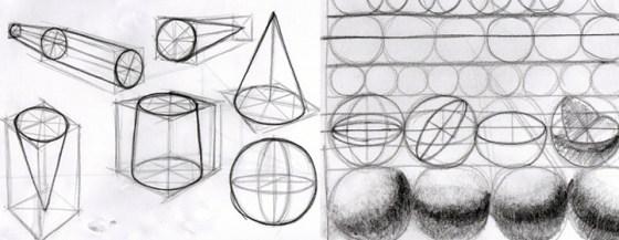 Cilinders kegels en bollen