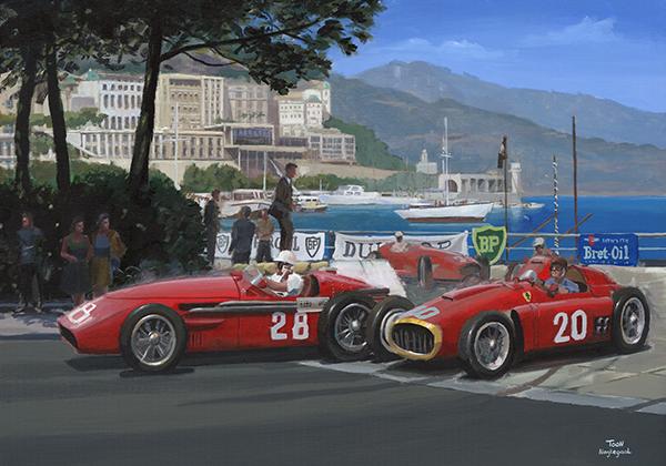 Classic Monaco Painting