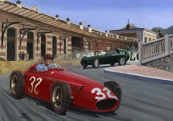 Winnaar GP Monaco 1957: Juan Manuel Fangio
