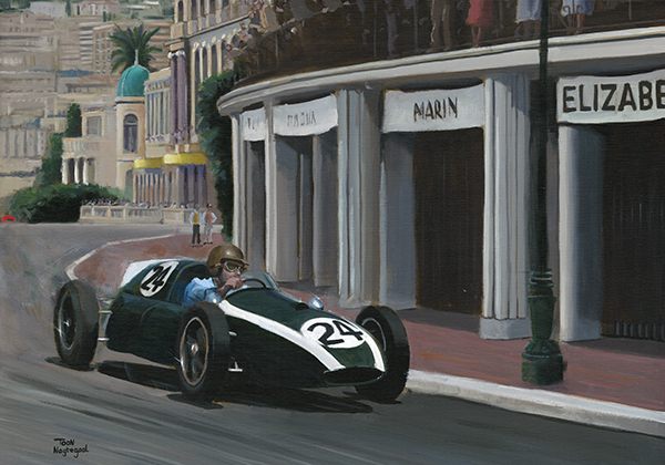 Winnaar GP Monaco 1959: Jack Brabham