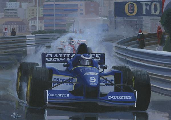 Winnaar GP Monaco 1996: Olivier Panis