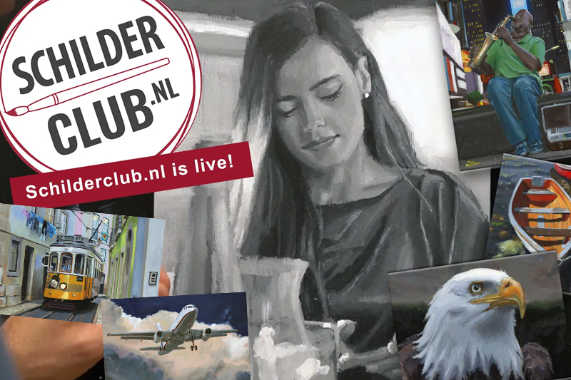 Schilderclub live