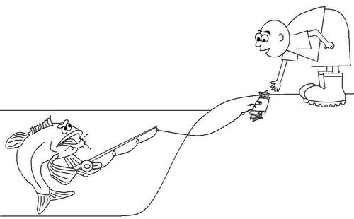 Cartoon: REVENGE (medium) by Thamalakane tagged revenge,angling