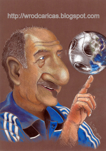 Cartoon: Luiz Felipe Scolari (medium) by WROD tagged felipao
