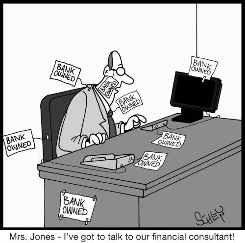 Bank owned By Karsten  Business Cartoon  TOONPOOL
