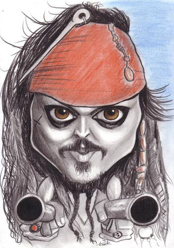 captain jack sparrow by