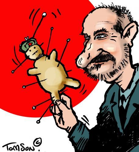 Cartoon: Macierewicz - polish politician (medium) by to1mson tagged macierewicz,politician,polen,poland,polska