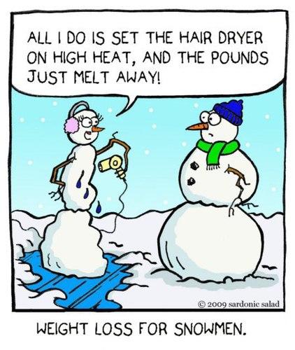 weight loss for snowmen 868425
