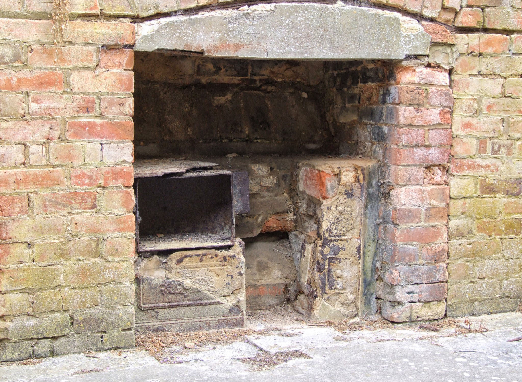 Old brick oven