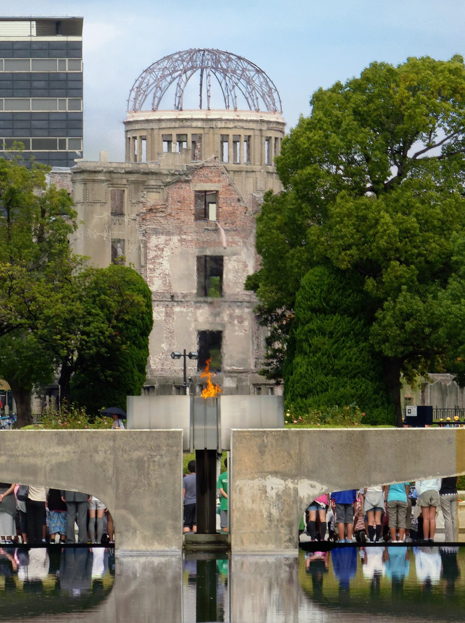View of Peace Park, Hiroshima