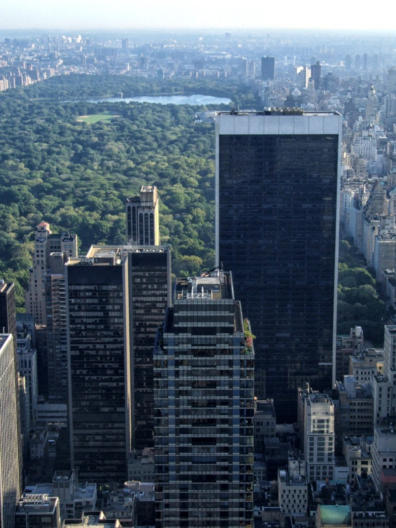 View of New York City with Central Park