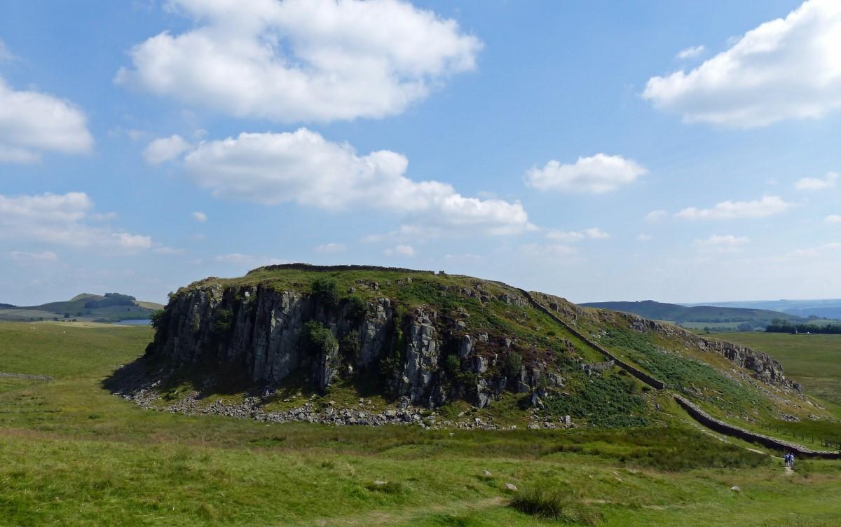 Landscape with escarpment
