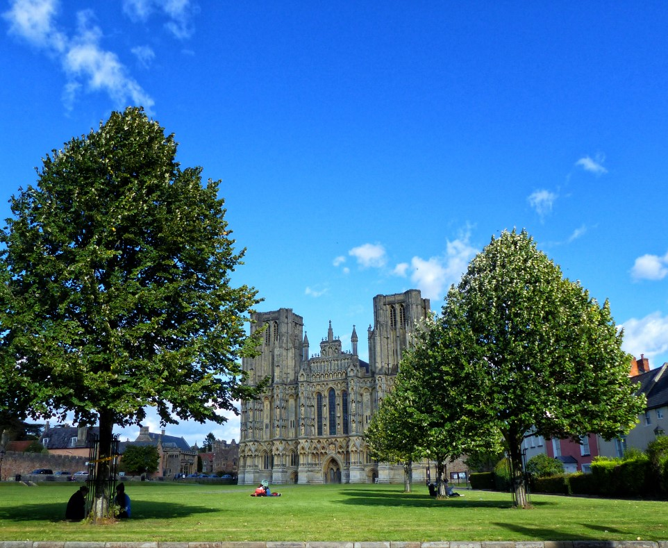 Cathedral and green in front