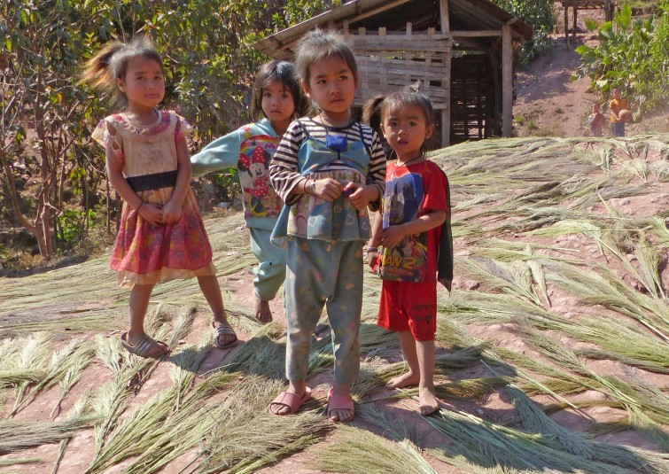 Group of small children