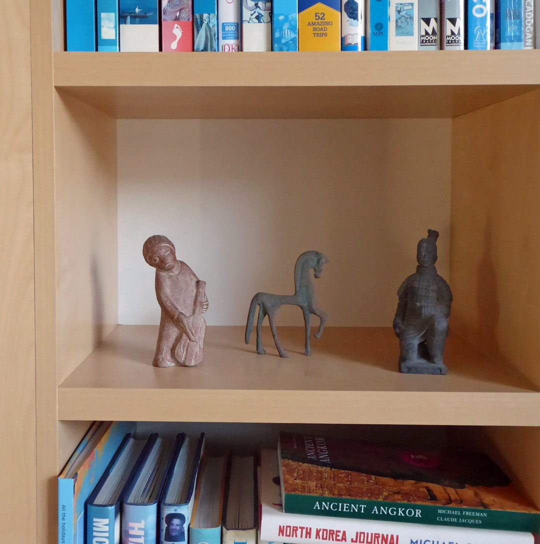 Small carved figures
