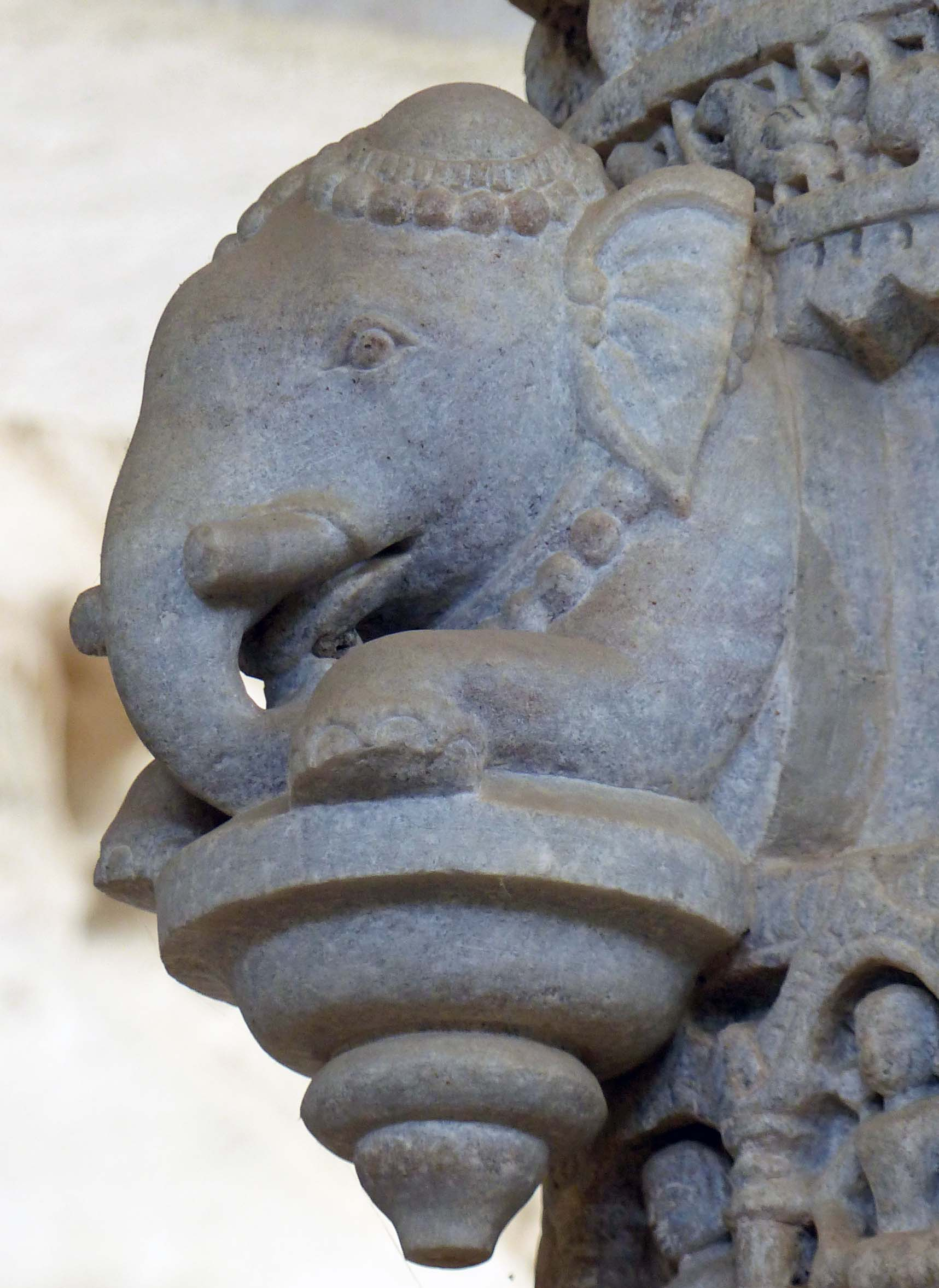Carving of elephant