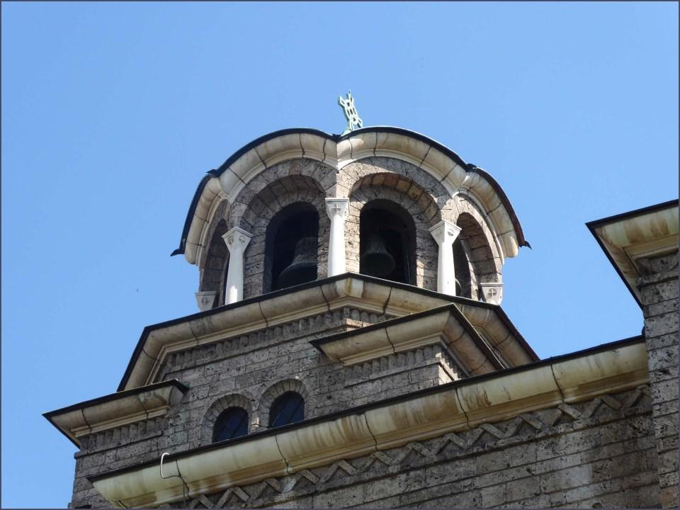 Orthodox church with belfry