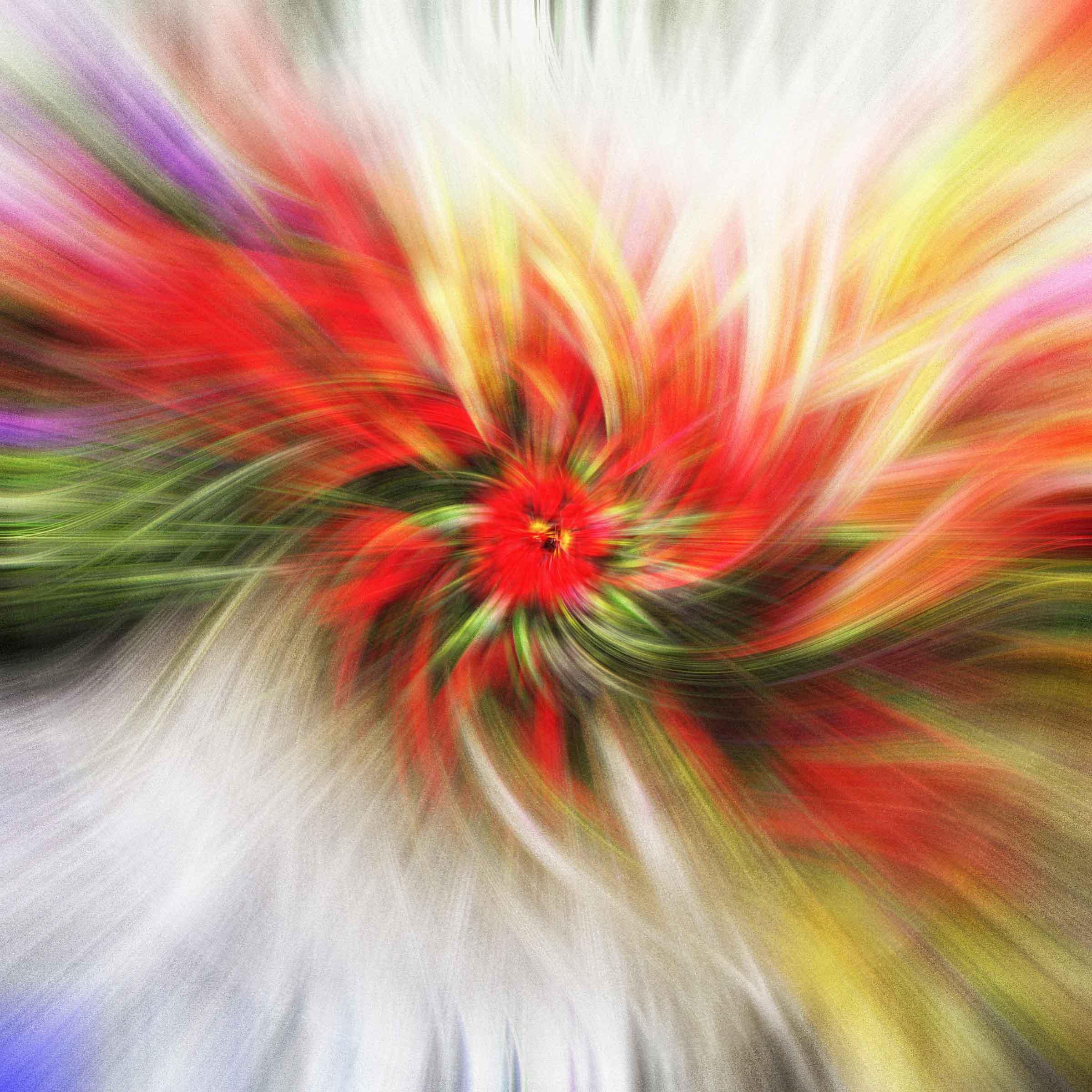 Twirl effect image