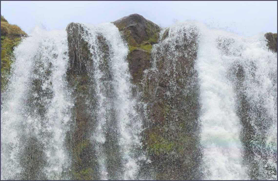 Top of a waterfall