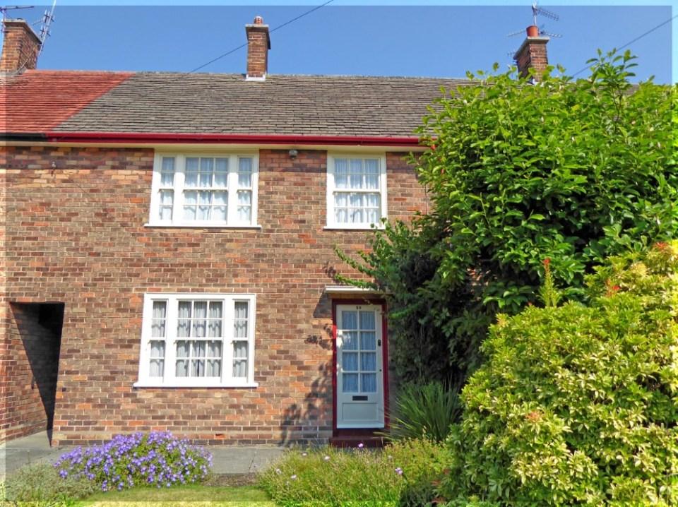 Brick terrace house