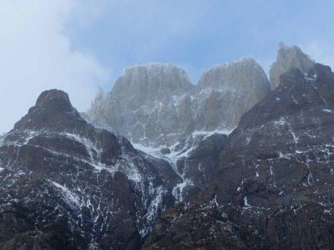 Dramatic mountain landscape