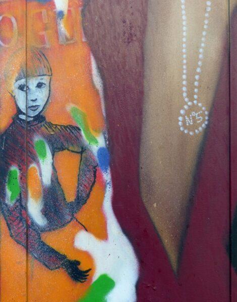 Colourful street art