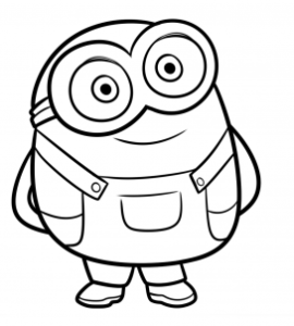 How To Draw Bob From Minions Easy Tutorial 7 Steps Toons Mag