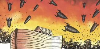 The Doomsday Clock, Cartoon by Musa Gumuz from Turkey.