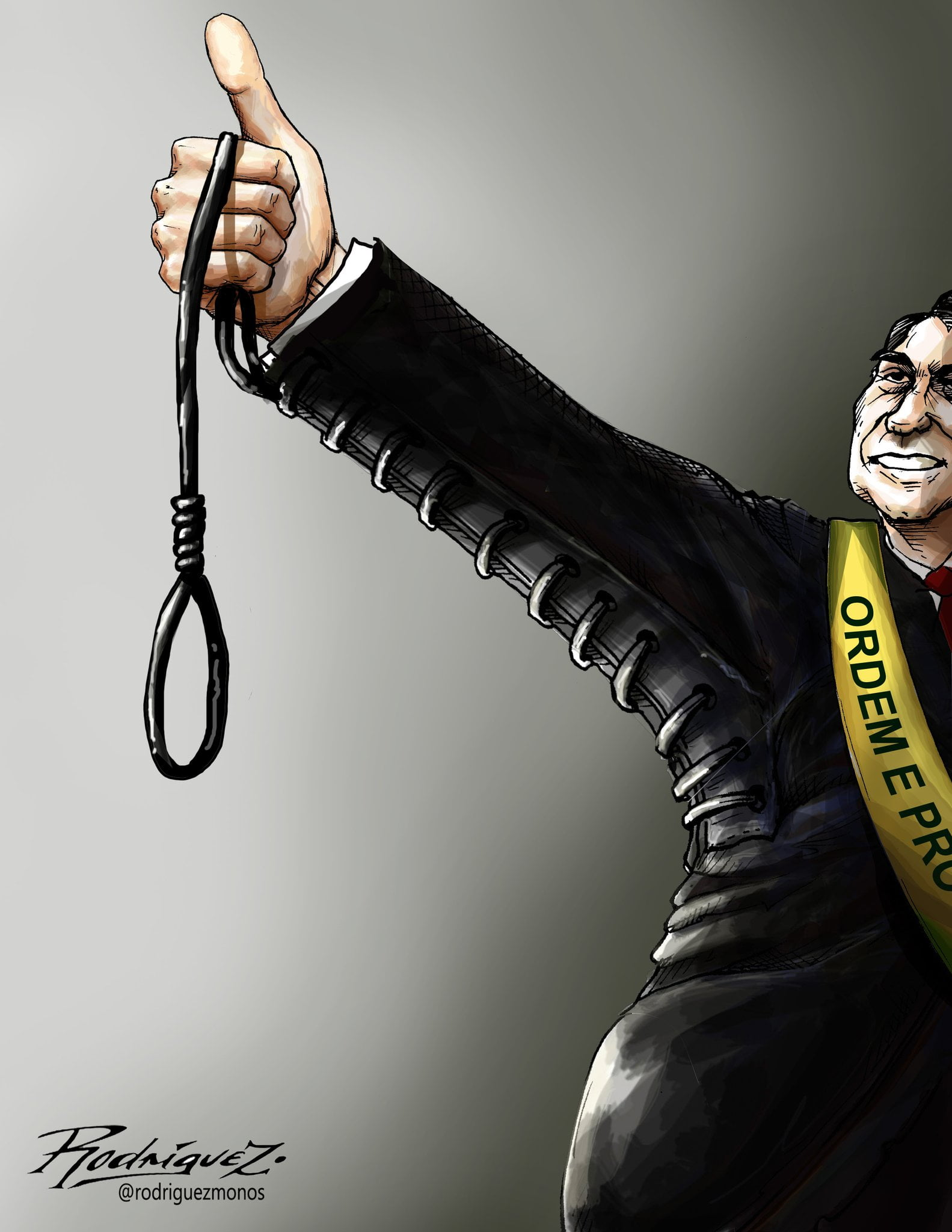 Brazilian Elections, Editorial Cartoon by Antonio Rodriguez Garcia, from Mexico City, Mexico