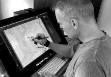 Character artist Michael van den Bosch