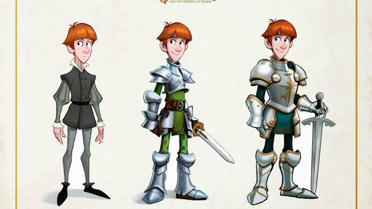 Justin and the Knights of Valour Article, Inspiring, by Anto Mario