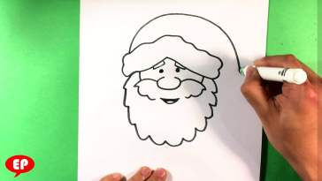 how to draw santa claus easy tutorial toons mag how to draw santa claus easy tutorial