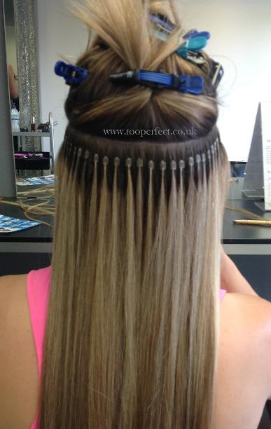 Micro Ring Hair Extensions At Too Perfect