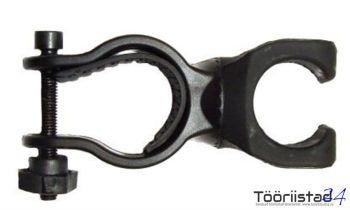 Taskulambi hoidja jalgrattale. 22 - 30mm