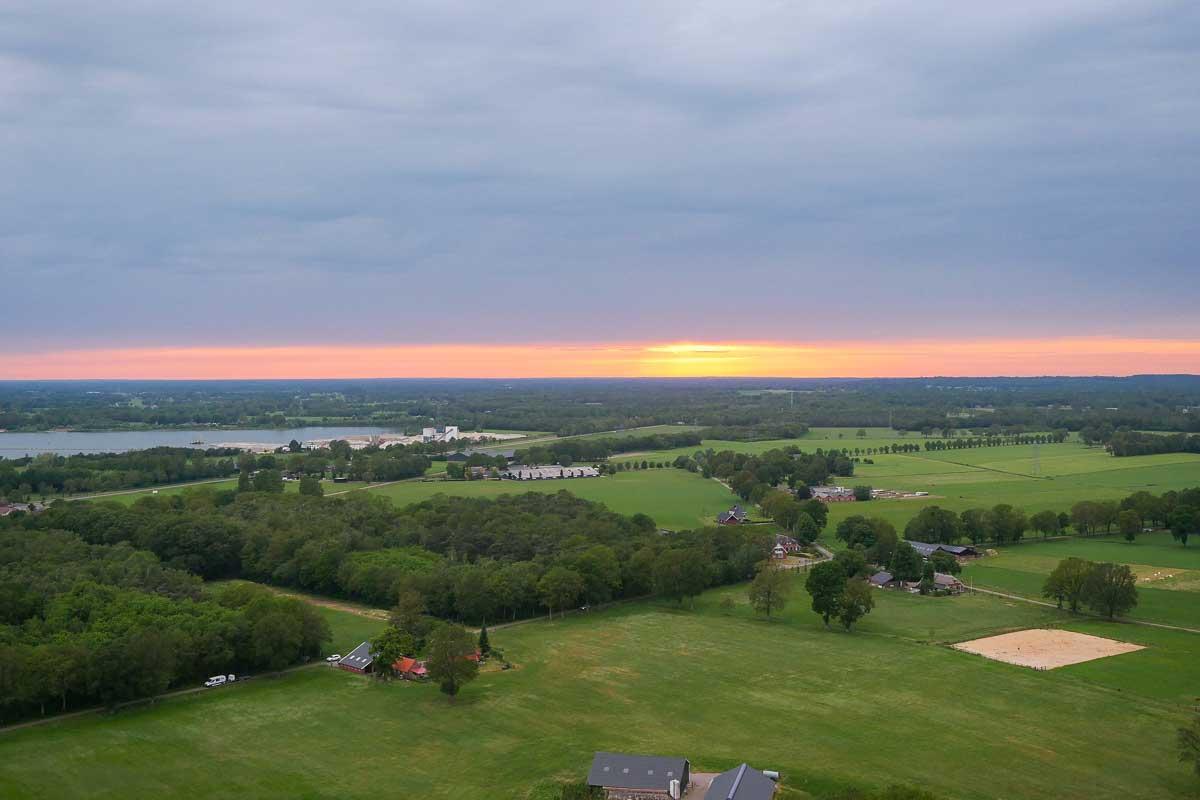 Culiair Sky Dining - Uitzicht ©Manon de Boer