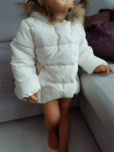 Girl's warm Baby jacket photo review