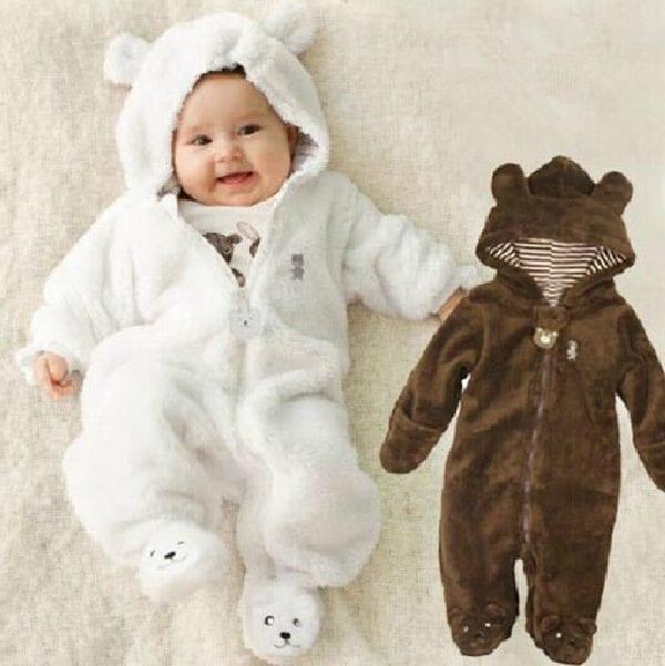 Winter Child style children's fleece overalls